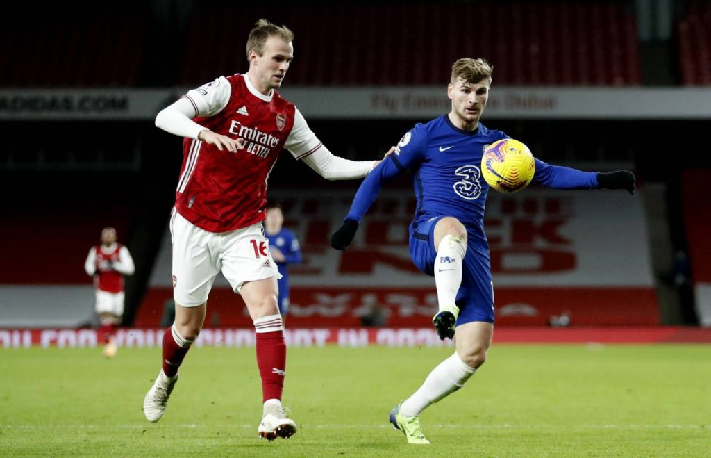 Chelsea boss Frank Lampard admits Timo Werner wasn't giving enough against Arsenal following his substitution at half time against Arsenal.