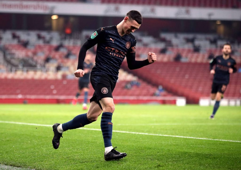 Real Madrid president Florentino Perez wants to sign Phil Foden next summer