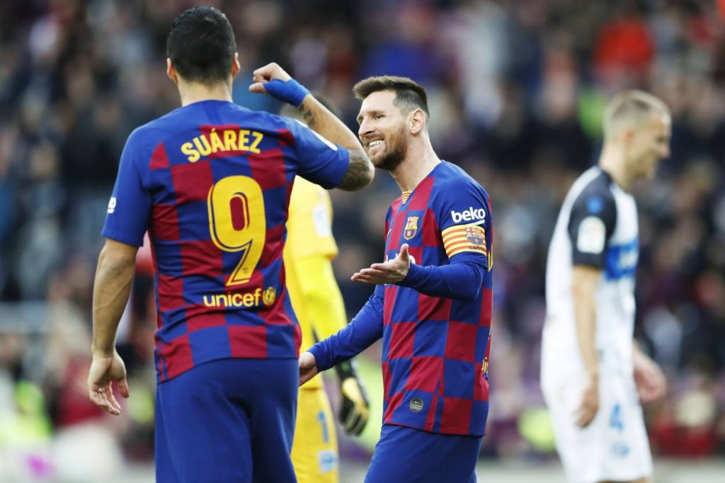 Lionel Messi and Luis Suarez could rejoin in 2022