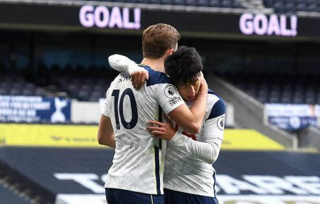 Son Heung-min's goal against Leeds was the 13th time this season that he and Harry Kane have combined for a goal.
