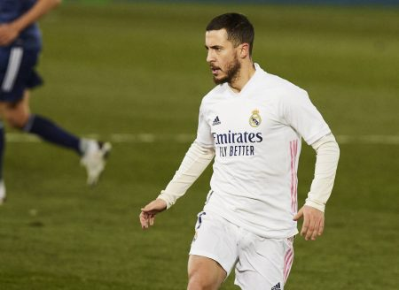 Real Madrid beat Celta Vigo 2-0 to go one point clear at the top of LaLiga. Eden Hazard also played a few minutes.
