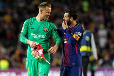 Stegen, Messi, Barca