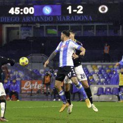 Despite going to a man down, Spezia stun Napoli 2-1. Tommaso Pobega scored the winner for the visitors late in the game.