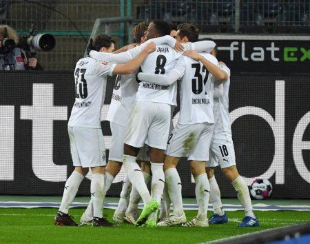 Gladbach captain Stindl set up both of Hofmann's goals