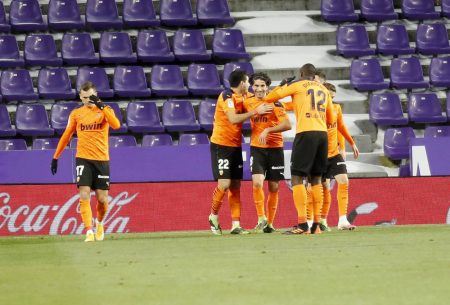 Carlos Soler scored the winner as Valencia beat Real Valladolid by 1-0 and climb 13th in La Liga standings.