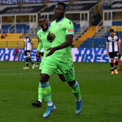 Luis Alberto and Felipe Caicedo on target as Lazio beat bottom side Parma 2-0 and move 8th in Serie A table.