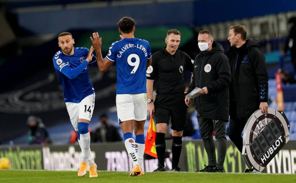 Calvert-Lewin out, Cenk Tosun in: How Everton could line up against Wolves