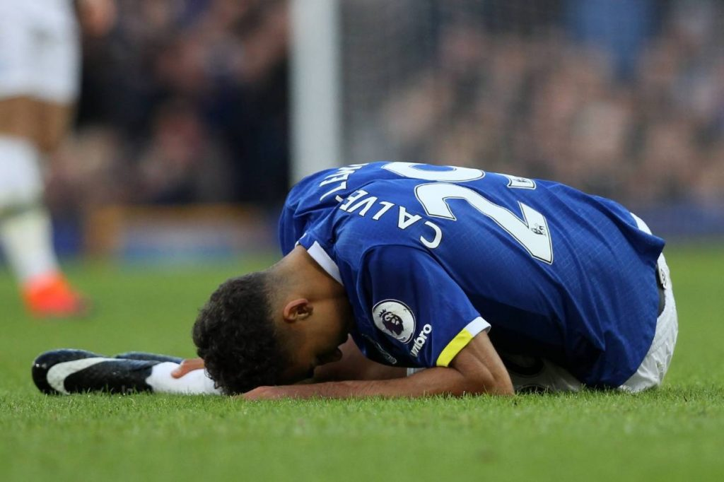 How long will Dominic Calvert-Lewin stay on the sidelines with hamstring injury