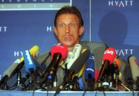 Christoph Daum Pressekonferenz 2001