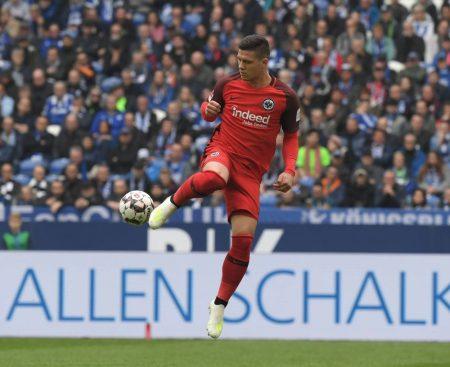 Luka Jovic Frankfurt Transfer