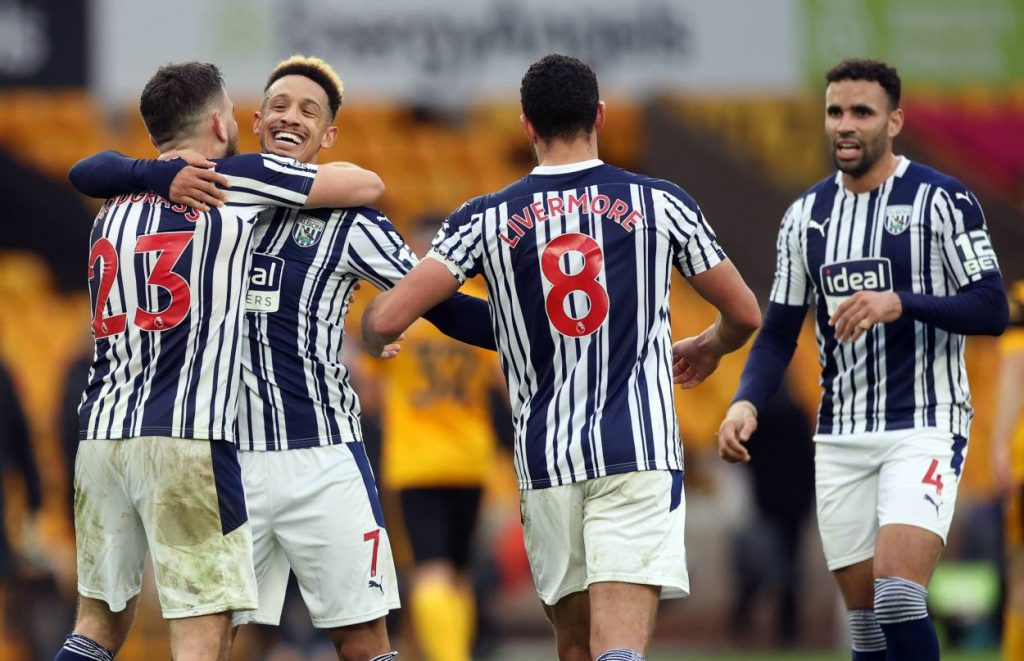West Brom have won consecutive away league matches against Wolves for the first time since a run of three between 1929 and 1931.