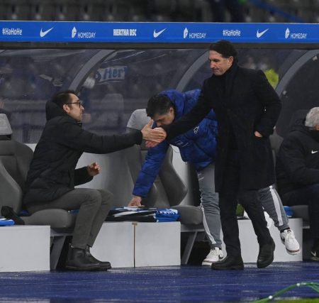 Hertha BSC Trainerentlassung