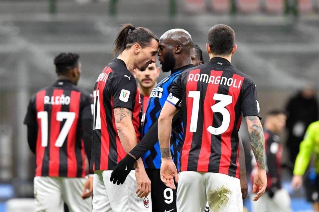What did Zlatan say to Lukaku in Milan derby in Coppa Italia?