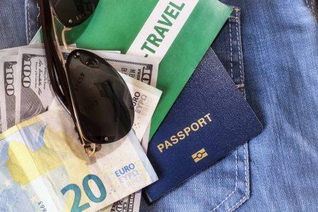 Geld, Reise, Urlaub, Symbol