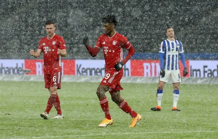 Kingsley Coman continues his good run of form this season — he was the best attacker on the pitch.
