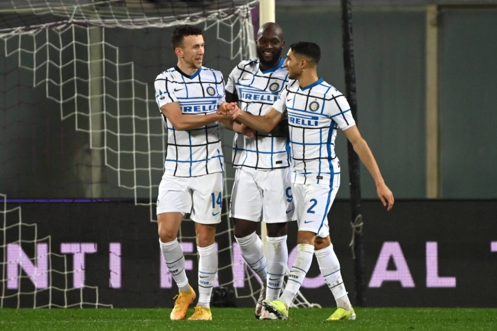 It was Inter Milan's first win in Florence since 2014.