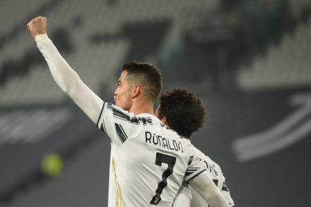 Ronaldo's strike extends his lead at the top of the Serie A scoring charts, taking him to 16 from 17 games, two more than Inter's Romelu Lukaku.