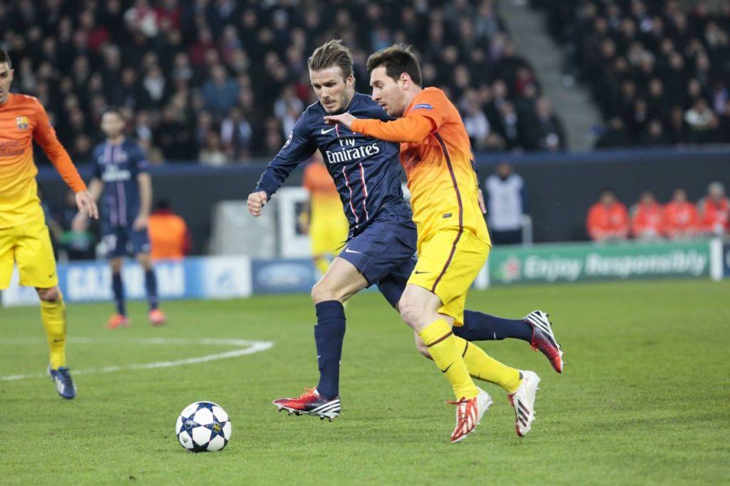 Beckham Messi Miami