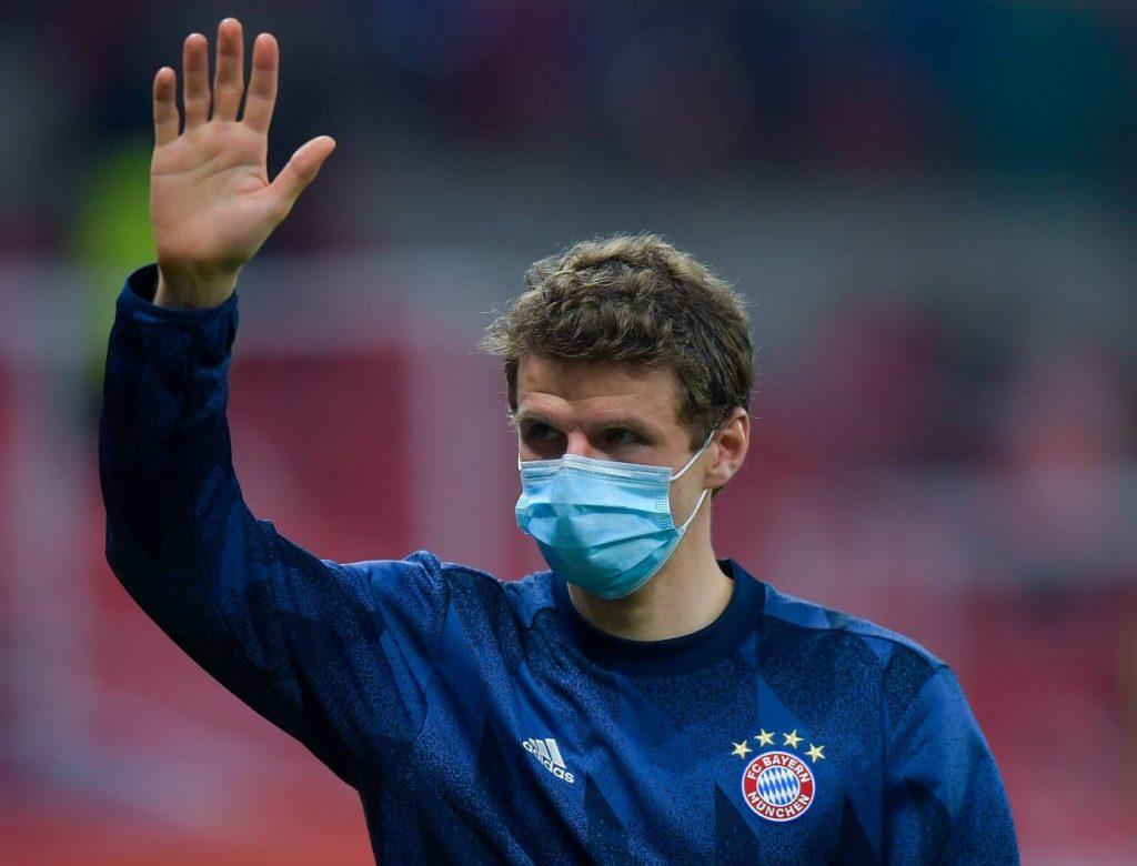 Müller Rückreise Bayern Katar