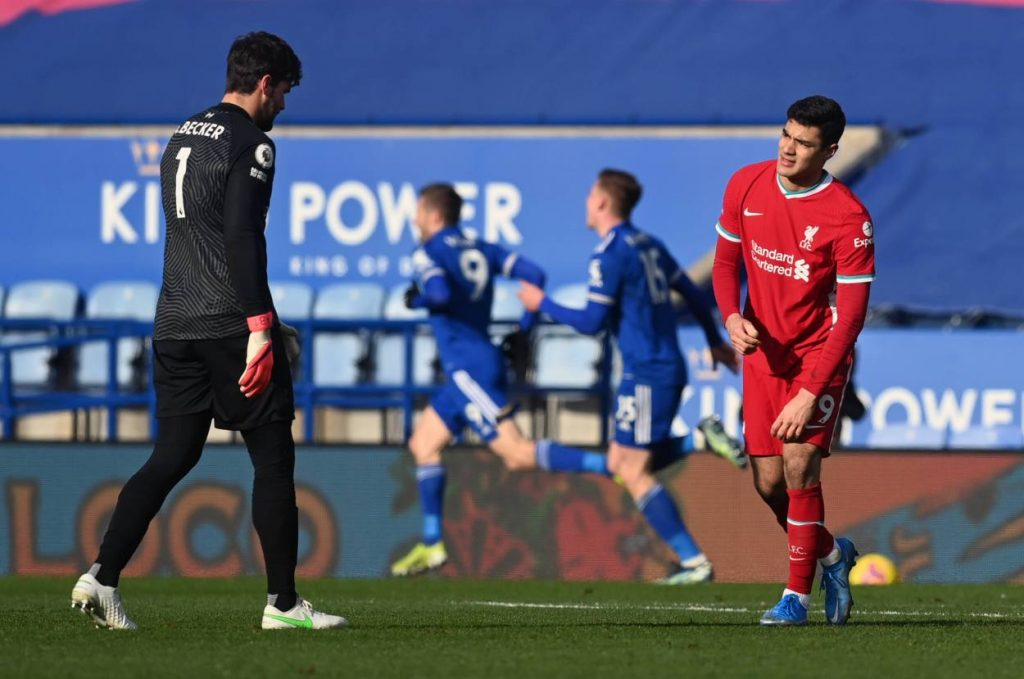 Liverpool have conceded seven goals in their past two Premier League games, as many as they had in their previous 10.