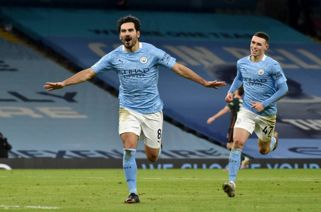 Ilkay Gundogan has scored more goals than any other player across Europe's top five leagues since the turn of the calendar year