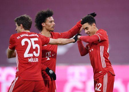 Musiala, Müller, Sane, Bayern