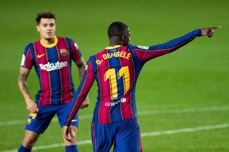 Barcelona Coutinho Dembélé