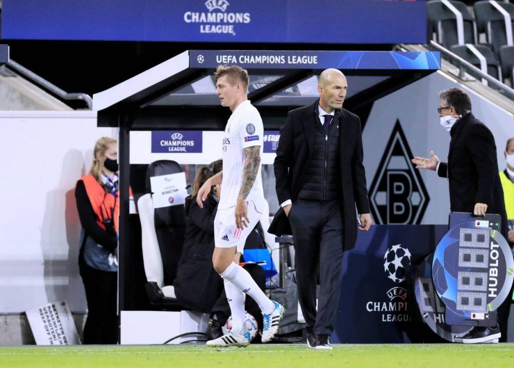 Kroos Zidane Trainerentlassung