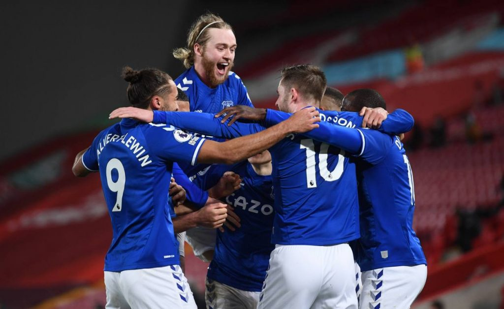 Everton have won eight of their 12 away league games this season (D2 L2)