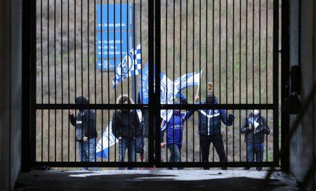 Schalke, Fans, Fahnen