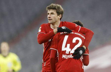 Müller Musiala Bayern Nationalmannschaft