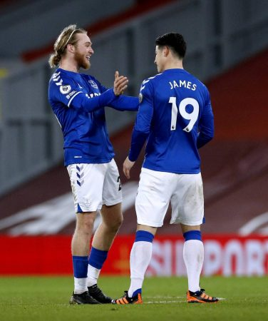 Why James Rodriguez and Tom Davies missed out on Everton's clash with Southampton