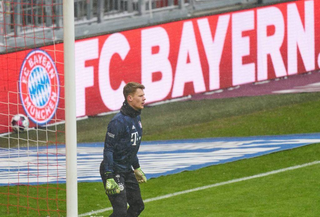Nübel Bayern Torwart-Zoff