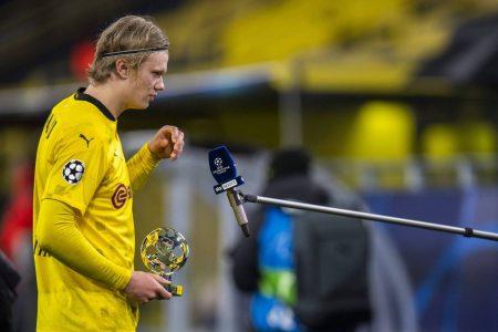 Haaland BVB Champions League