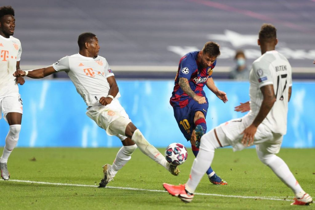 David Alaba FC Barcelona
