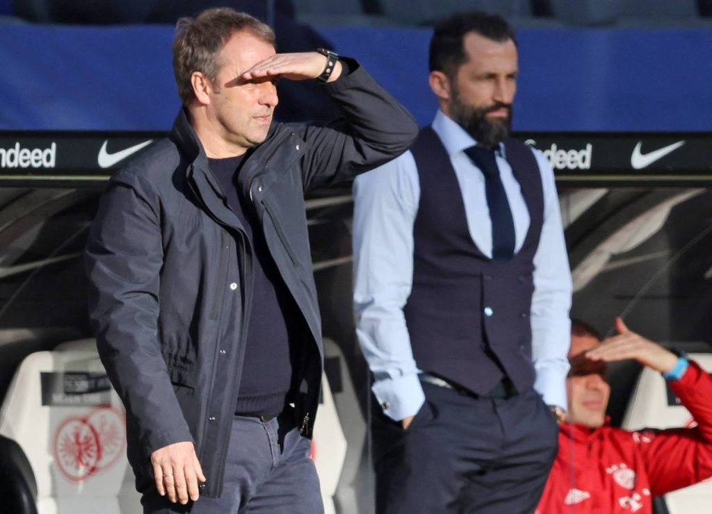 Salihamidzic Flick Bayern Bundestrainer
