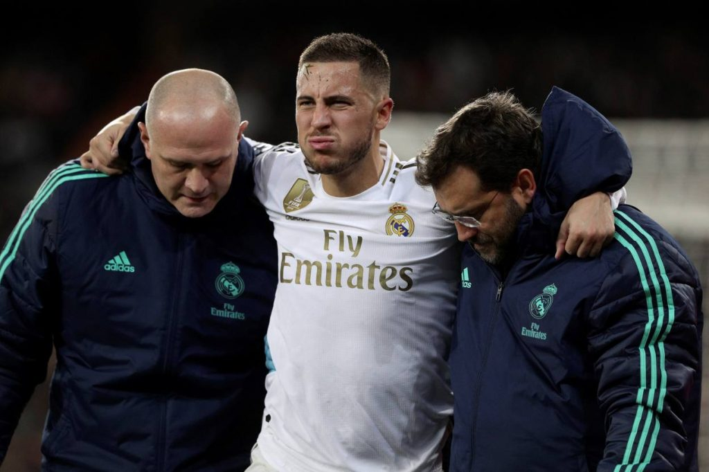 Eden Hazard injury history: Real Madrid star's poor injury record moving to Spain in 2019
