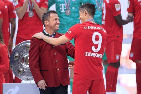 Lewandowski Bayern Haaland