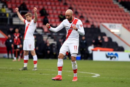 Two fine goals and an equally impressive assist for Nathan Redmond, as Saints made it to the last four
