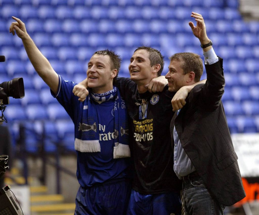 Frank Lampard had flourishing relation with Roman Abramovich