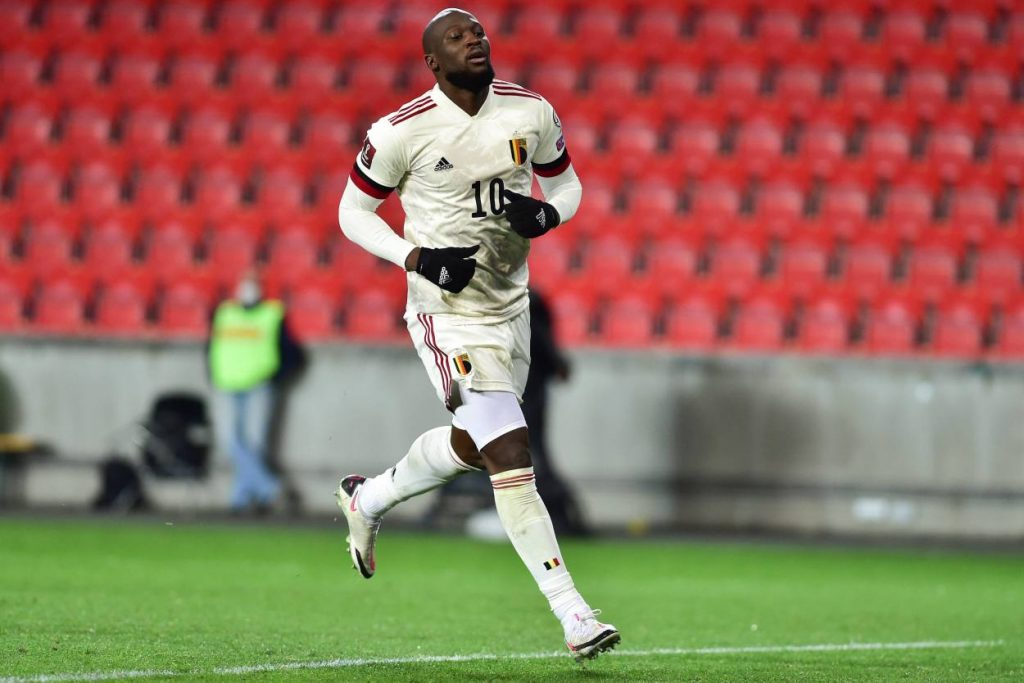 Romelu Lukaku has scored 59 goals in 91 caps for Belgium.