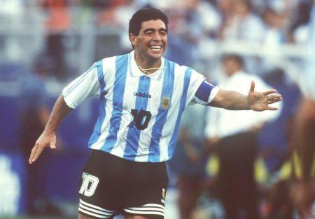 Mardaona spielte richtig gut bei der WM 1994; Mit besonderer Hilfe!