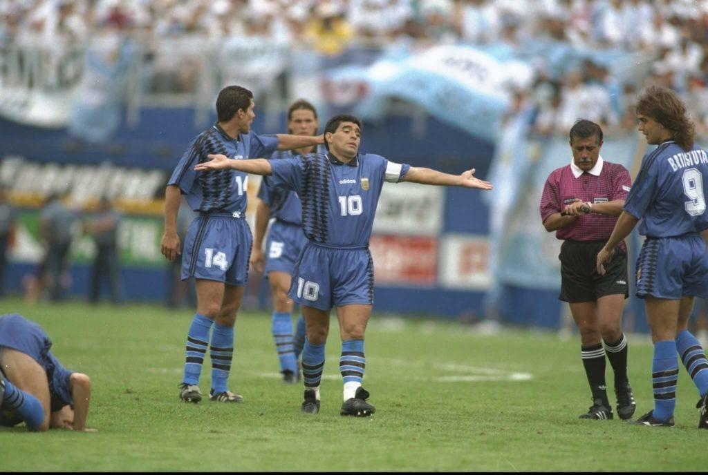 Bis zuletzt gab Maradona den Betrug nicht zu.