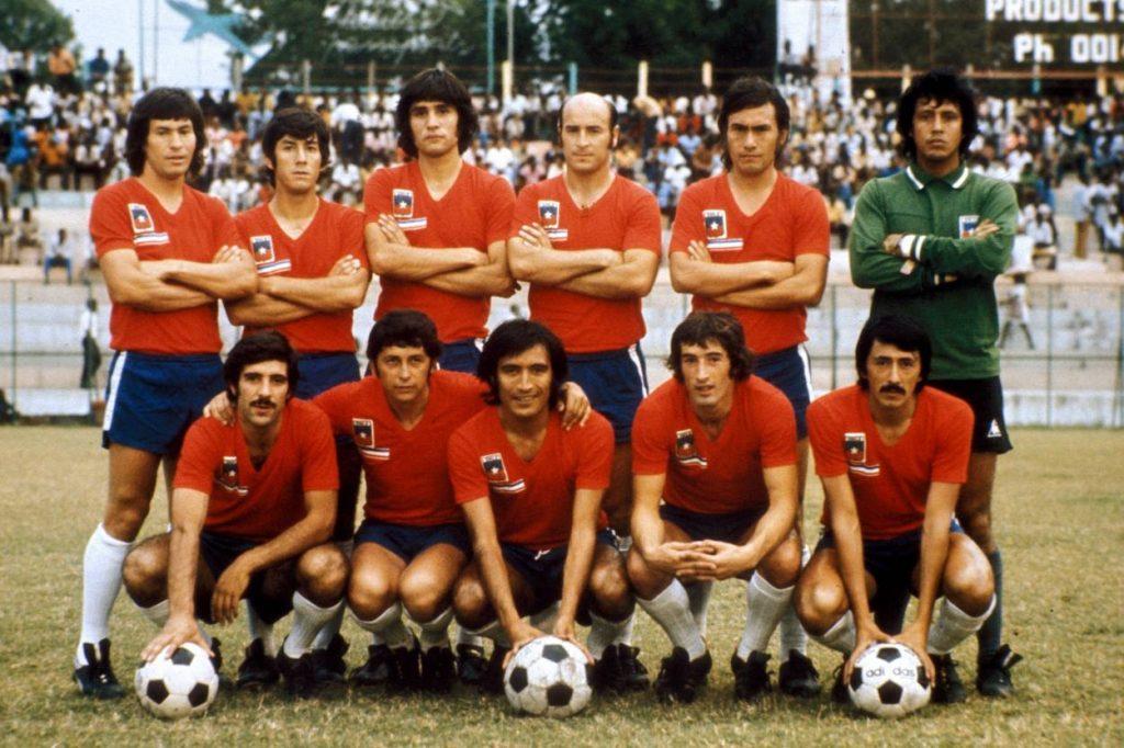 Die chilenische Mannschaft qualifizierte sich für die WM 1974 in Deutschland.