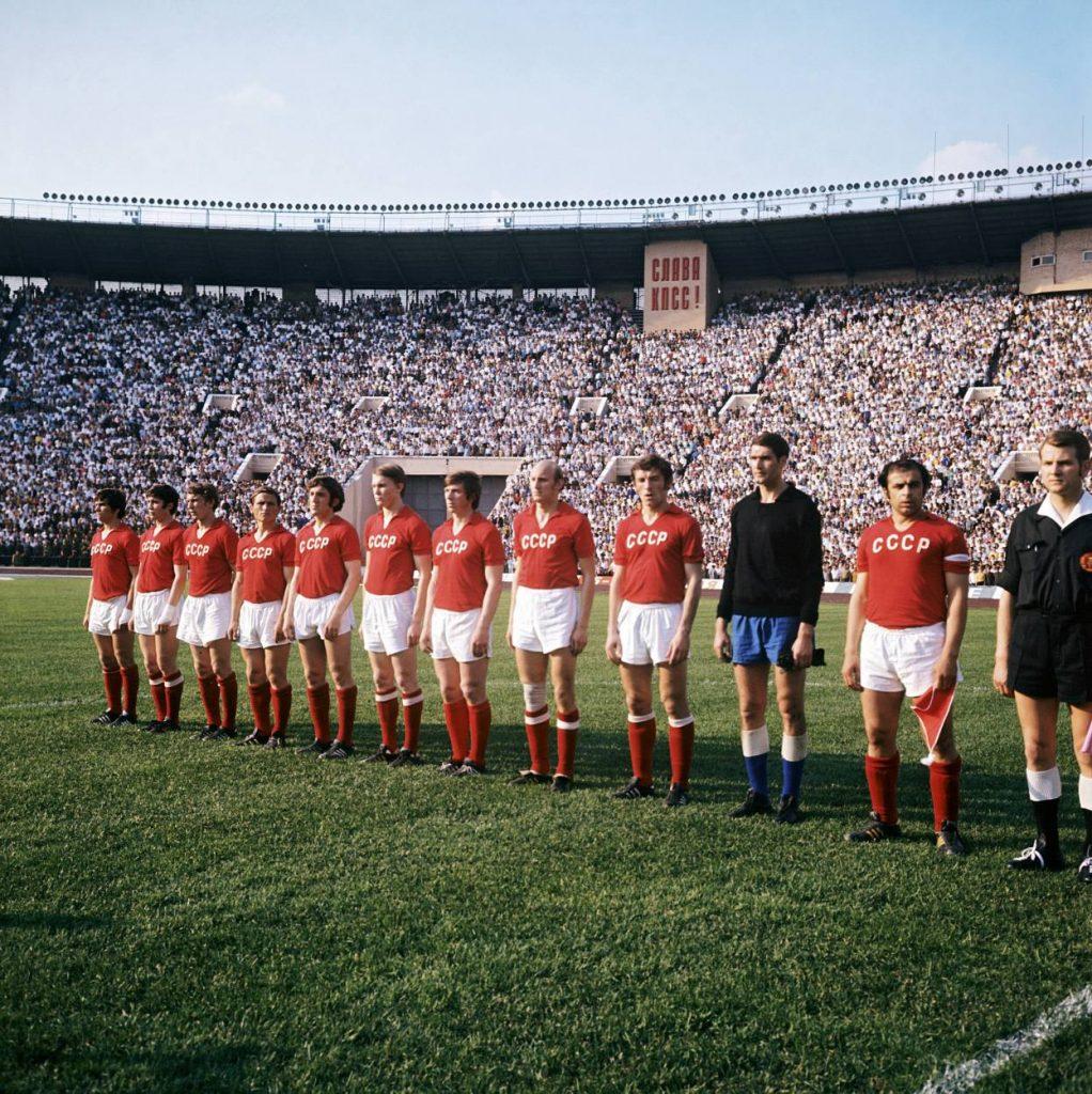 Das Team der UDSSR weigerte sich in Chile zu spielen.
