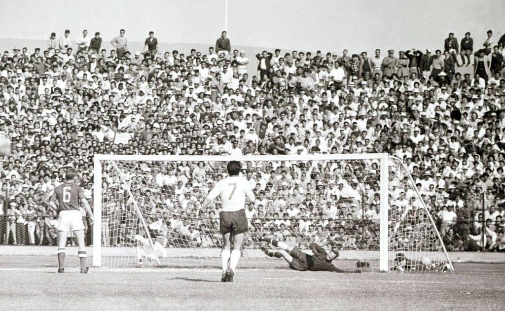 Bei der WM 1962 trafen die UDSSR und Chile bereits aufeinander.