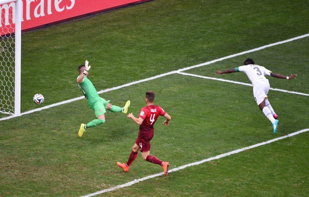 Fast wäre Deutschland bei der WM 2014 an Ghana gescheitert.