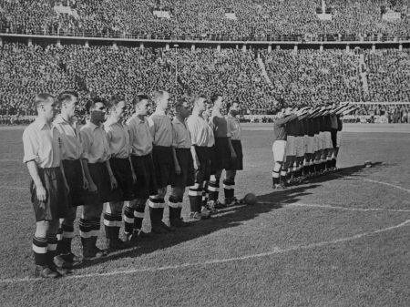Großdeutsch in die WM-Pleite 1938.