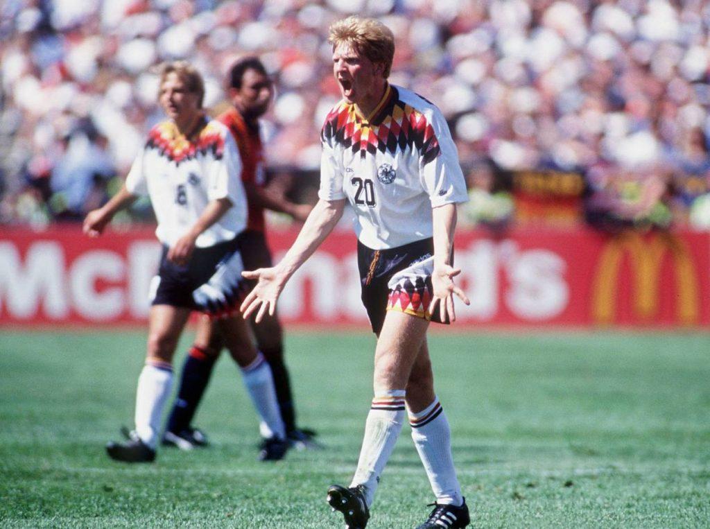 Effenberg war bis zu seiner Verbannung einer der besten deutschen Spieler bei der WM 1994.