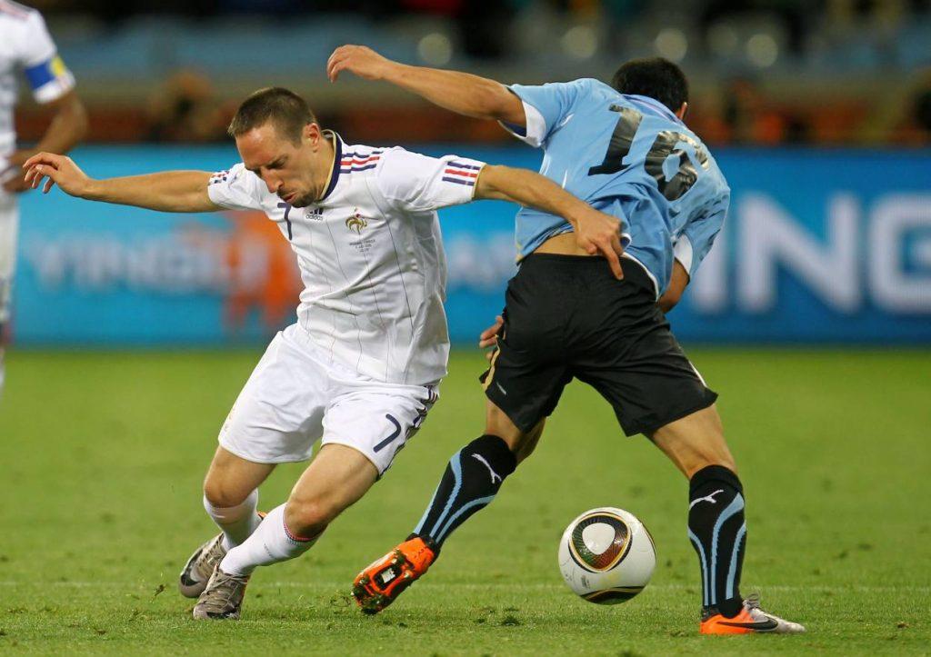 Meuterei bei den Franzosen mit Franck Ribery vom FC Bayern.
